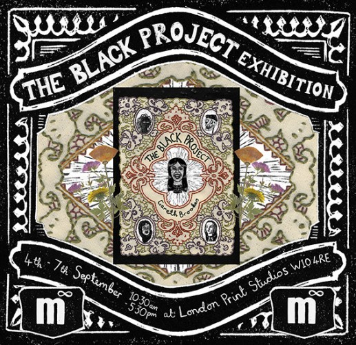 The Black Project Exhibition Flyer