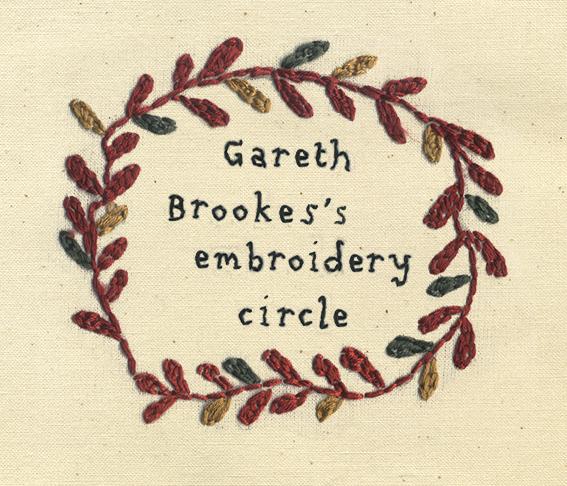 Gareth Brookes Embroidery Circle