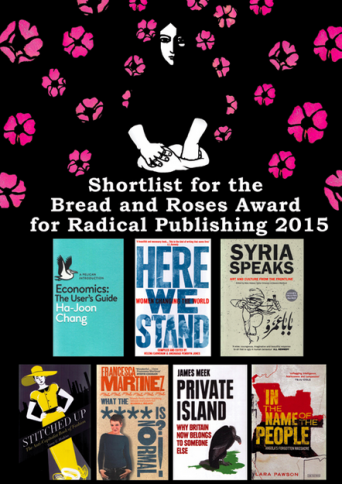 Bread & Roses 2015 Shortlist